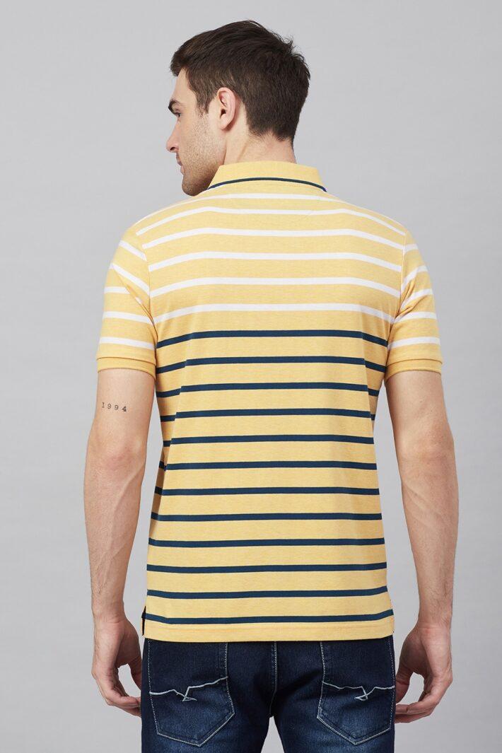 Fahrenheit Jersey Lightweight Stripe Polo