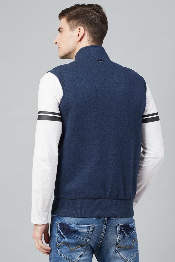 Fahrenheit Zip Up Fleece Sleeveless Jacket